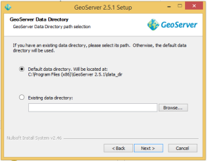 Geoserver Data Directory